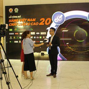 Đài Truyền Hình Thành phố Hồ Chí Minh HTV9 làm phóng sự về nhãn hàng Sữa Nghệ Hera